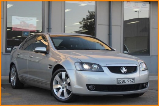 2008 HOLDEN CALAIS V VE MY08 1452